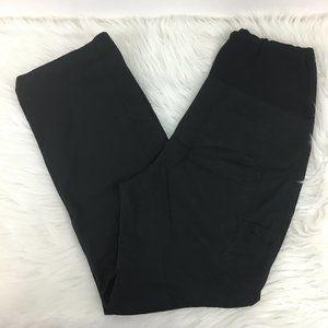 Cherokee S Maternity Scrub Pants Black Stretch Bel